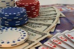 Vegas pokera. zdjęcia royalty free