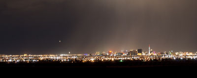 Vegas Rain Royalty Free Stock Images