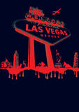 Vegas-red Stock Image