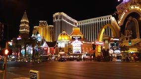 Vegas remsa Fotografering för Bildbyråer