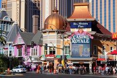 Vegas remsa Royaltyfri Fotografi