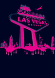 Vegas-roze Royalty-vrije Stock Foto's