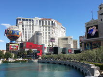 Vegas Scenery Planet Hollywood. The Las Vegas Strip Stock Images