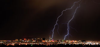 Vegas schlug Stockbild