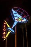 Vegas Shining Sign Stock Photos