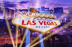 Vegas Showtime Stock Photo