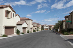 Vegas Single Family Homes Stock Photography