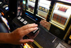 Vegas Slot Machine Stock Photos