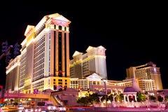Vegas Strip at Night royalty free stock photos