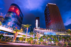 Vegas Strip at Night Stock Photo