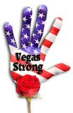 Vegas Strong. Stock Photo