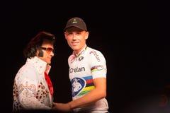 Vegas transversal Cyclocross - Sven Nys Imagem de Stock