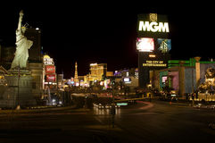 Vegas tropicana ave stock images
