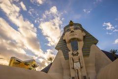 Vegas van Las van het Luxorhotel Stock Afbeelding