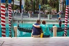 Vegas veneziano Immagini Stock Libere da Diritti