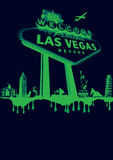 Vegas-verde Fotos de archivo