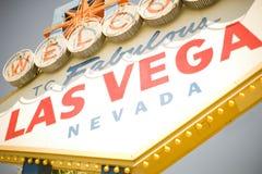 Vegas-Zeichen Lizenzfreie Stockbilder