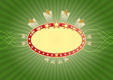 Vegasbanner van Las royalty-vrije illustratie