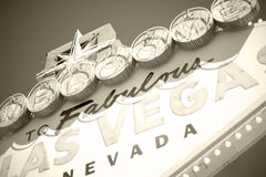 Vegasonthaal van Las Stock Fotografie