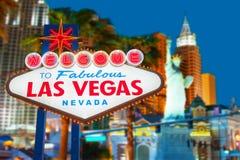 Vegasteken van Las Royalty-vrije Stock Fotografie