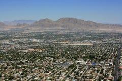 Vegasvoorsteden van Las Stock Afbeeldingen