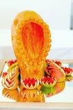 Vegatable e decorazione della tavola dell'agrume Fotografie Stock