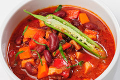 Vegatable stew or thick soup Royalty Free Stock Photo