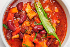 Vegatable stew or thick soup Royalty Free Stock Image