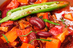 Vegatable stew or thick soup Royalty Free Stock Photos