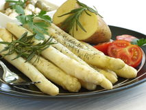 Vegatables on plate Stock Photography