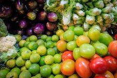 Vegatables W ranku rynku Zdjęcie Stock