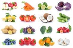 Vege de paprika d'oranges de pommes de collection de fruits et légumes Images stock