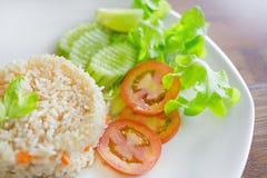 Vege Rice Royalty Free Stock Image