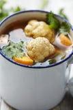 Vegeable soppa Fotografering för Bildbyråer