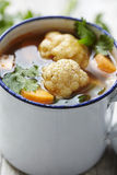 Vegeable-Suppe Stockbild