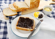 Vegemite Sandwich Royalty Free Stock Images