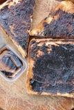 Vegemite on Toast. The Australian love it royalty free stock photos
