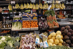 VEGES AND FRUIT SHOP Stock Photography