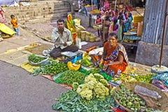 Vegetabe salers Stock Photo