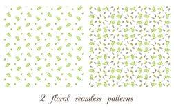 Vegetable безшовная картина Стоковое Изображение RF
