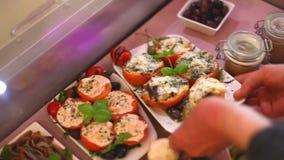 Vegetable блюда готовые быть послуженным видеоматериал