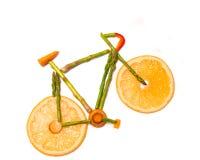 Vegetable велосипед дороги Стоковые Фотографии RF