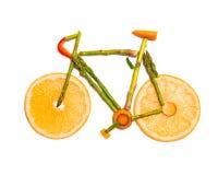 Vegetable велосипед дороги Стоковое фото RF