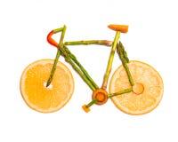 Vegetable велосипед дороги Стоковое Фото