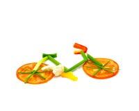 Vegetable велосипед Стоковая Фотография