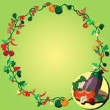 vegetable венок Стоковые Фотографии RF