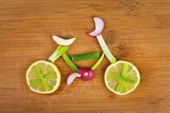 Vegetable велосипед стоковое фото rf