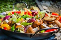 Vegetable еда Стоковая Фотография RF