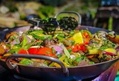 Vegetable еда Стоковое фото RF