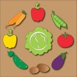 Vegetable круг Стоковые Фото